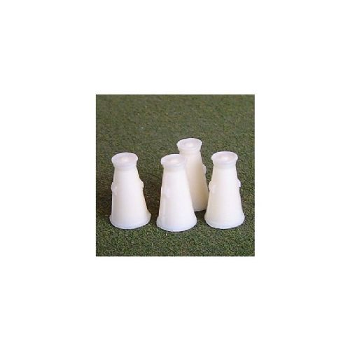 O-028 Unit Models Conical Milk Churns (4) Unpainted Resin